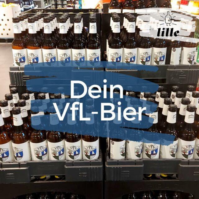 VfL-Bier – Jetzt erhältlich